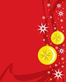 明るいクリスマスつまらない. — ストックベクタ