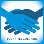 Handshake symmetry. — Stock Vector #26870823