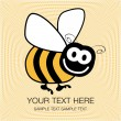 Bumble bee — Stock Vector