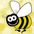 Fun bumble bee vector. — Stock Vector