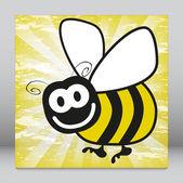 Fun bumble bee vector. — Stock Vector