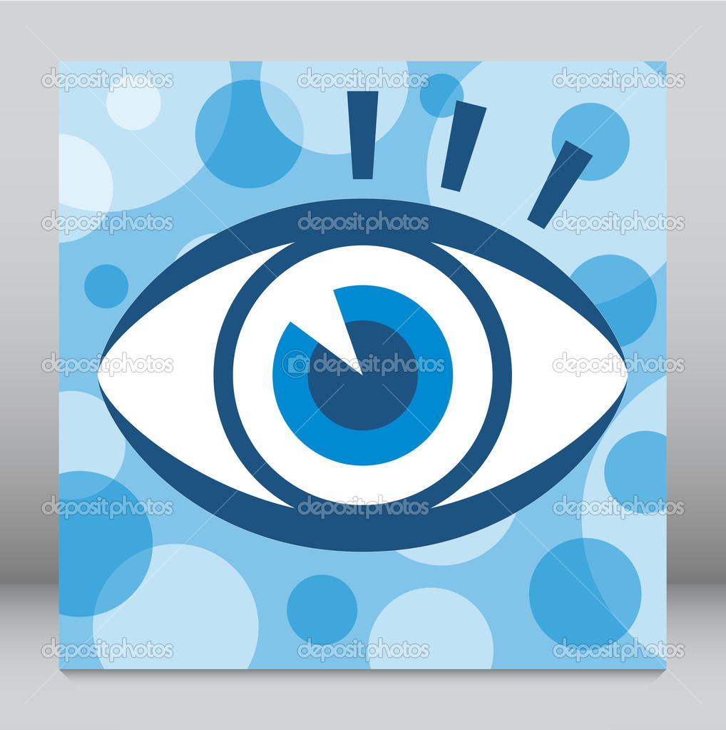 引人注目的眼设计 — 矢量图片作者 aquasip