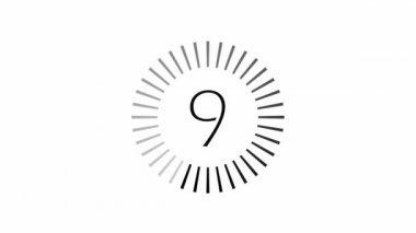 Loading - 10-0 - Black — Stock Video