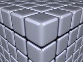 3D Cubes - Optical Illusion — Stock Photo