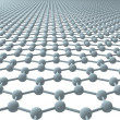 Graphene - Regular Hexagonal Pattern — Stock Photo