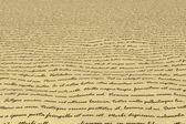 Manuscript - Lorem Ipsum — Stock Photo