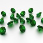 3D Emeralds — Stock Photo #26819537