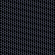 Stock Photo: 3D Regular Hexagonal Pattern (Graphene)