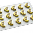 Pharmaceutical Business - Euro — Stock Photo
