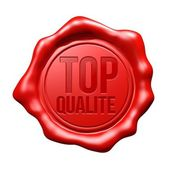 Red Wax Seal : Top Qualité — Stock Photo