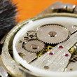 Watch mechanism — Stockfoto