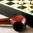 Chess table — Foto de Stock