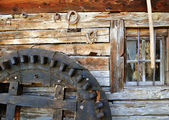 Water mill component — Stock Photo