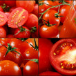 Tomatoes collage images. — Stock Photo #29443765