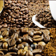 Coffee collage image. — Stock Photo