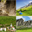 Romanian landscapes — Stock Photo