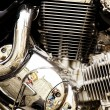 Motorcycle engine. — Foto de stock #31352817