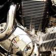 Stockfoto: Motorcycle engine.