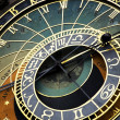Prague astronomic clock. — Stock Photo