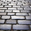 Stock Photo: Cubic stone alley in Prague.