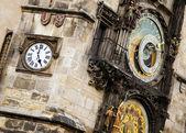 Relógio de praga. — Foto Stock