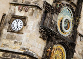 Reloj de praga. — Foto de Stock