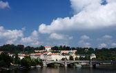 City landscape Prague,Czech Republic. — Stock Photo