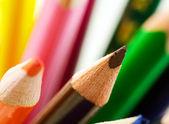 Coloured pencils. — Stockfoto