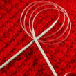 Knitting needles. — Stock Photo