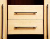 Wooden drawers. — Stock Photo