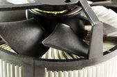 CPU cooler. — Stock Photo