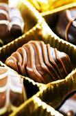 Chocolate pralines. — Stock Photo