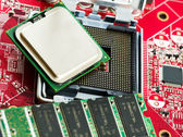 Motherboard detail. — Stock Photo
