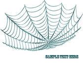 Spiderweb — Stock Vector