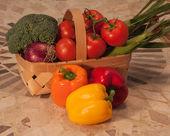 Vegetable basket — Stock Photo