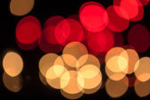 Bokeh lights back ground — Stock Photo