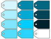 Tag Label illustration set — Stock Photo