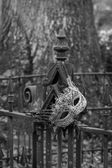 Graveyard Ironwork — Stock Photo