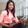 Stock Photo: African-americbusiness woman