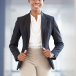 African-american professional woman — Stock Photo