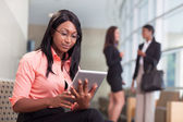 African-american business woman — Stock Photo