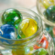 Stock Photo: Cat's Eye Shooter Marbles