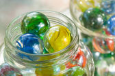 Cat's Eye Shooter Marbles — Stock Photo