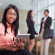 African-american businesswoman — Stock Photo