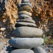 Rocks Stacked one on top of another — Stock Photo