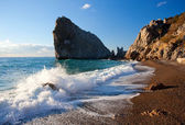Rock Diva. Simeiz. Crimea. Ukraine. Black Sea — Stock Photo