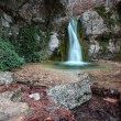 Stock Photo: Mountain waterfall in Yalta, Crimea, Ukraine