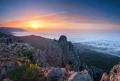 View from Ai-Petri mountain, — Stock Photo