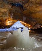 氷の洞窟 — ストック写真
