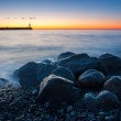 Beautiful seascape with lighthouse — Stock Photo #50798457